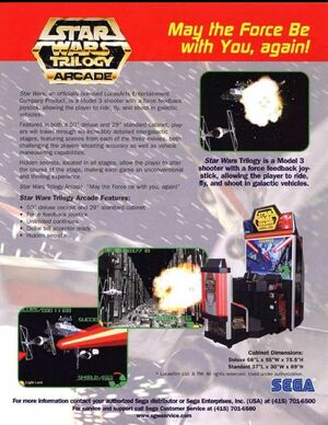 Cover for Star Wars Trilogy Arcade.