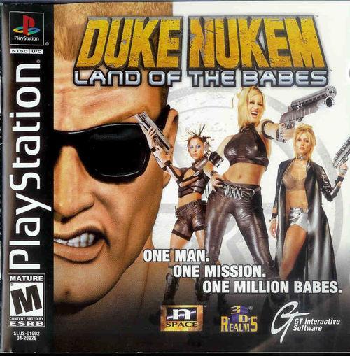 Cover for Duke Nukem: Land of the Babes.
