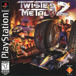 Cover for Twisted Metal 2.
