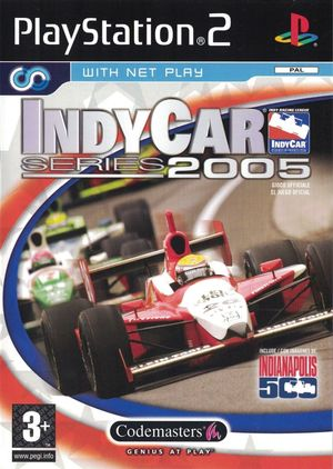Cover for IndyCar Series 2005.