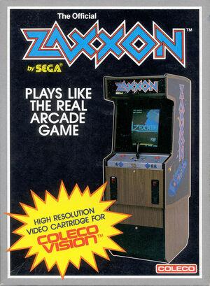 Cover for Zaxxon.