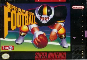 Cover for Super Play Action Football.