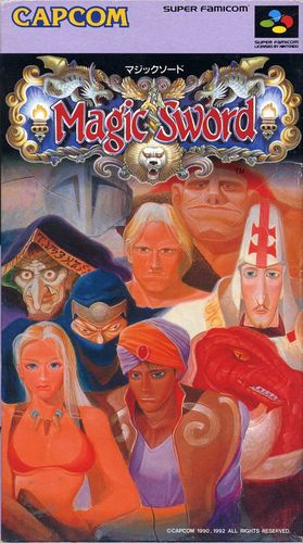 Cover for Magic Sword.