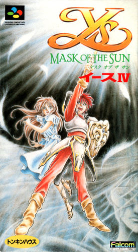 Cover for Ys IV: Mask of the Sun.
