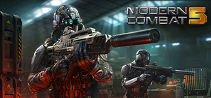 Cover for Modern Combat 5: Blackout.