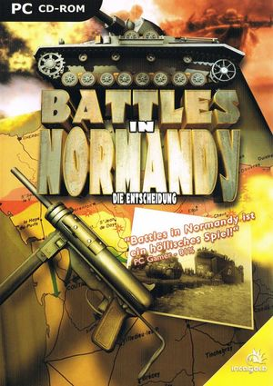 Cover for Battles in Normandy.