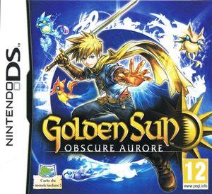 Cover for Golden Sun: Dark Dawn.