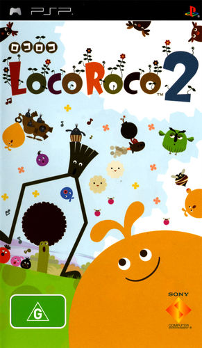 Cover for LocoRoco 2.
