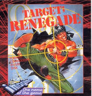 Cover for Target: Renegade.