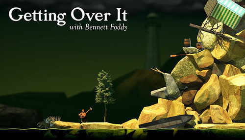 Cover for Getting Over It with Bennett Foddy.