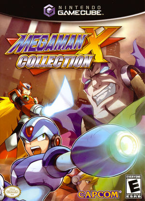 Cover for Mega Man X Collection.