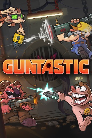 Cover for Guntastic.