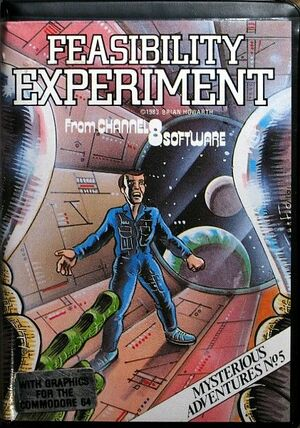 Cover for Feasibility Experiment.