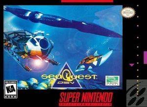 Cover for SeaQuest DSV.