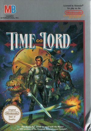 Cover for Time Lord.