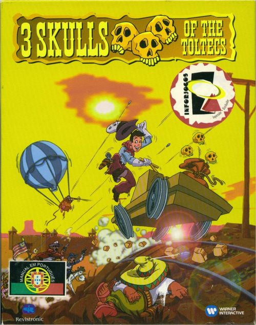 Cover for 3 Skulls of the Toltecs.