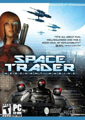 Cover for Space Trader.