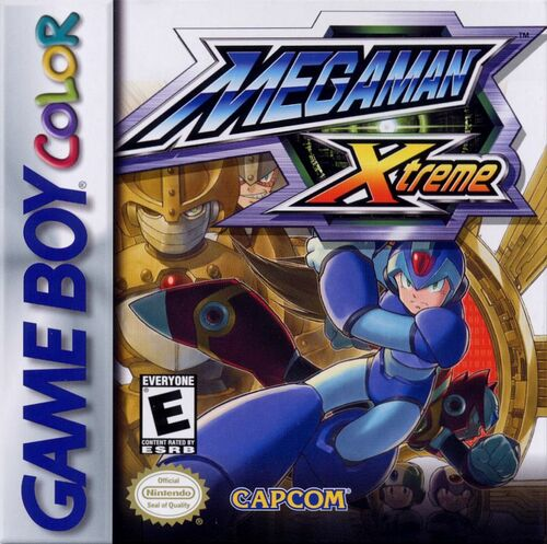 Cover for Mega Man Xtreme.