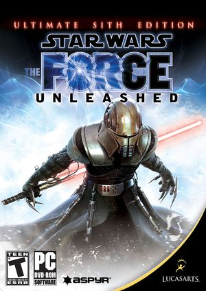 Cover for Star Wars: The Force Unleashed.