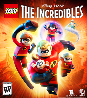 Cover for Lego The Incredibles.