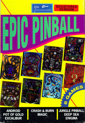 Cover for Epic Pinball.