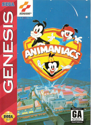 Cover for Animaniacs.