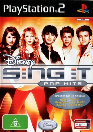 Cover for Disney Sing It: Pop Hits.