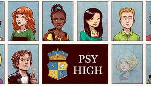 Cover for Psy High.