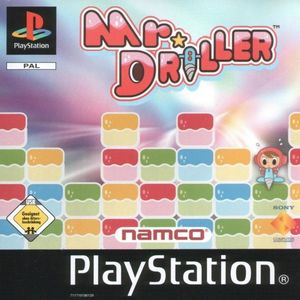 Cover for Mr. Driller.