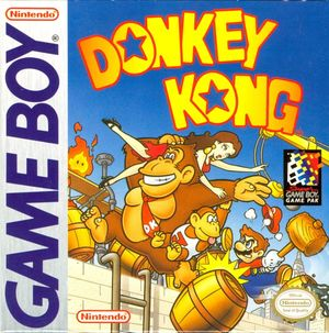 Cover for Donkey Kong.
