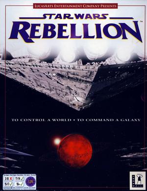 Cover for Star Wars: Rebellion.