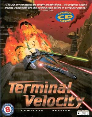Cover for Terminal Velocity.