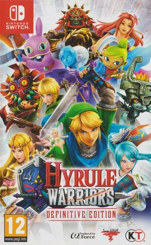Cover for Hyrule Warriors: Definitive Edition.