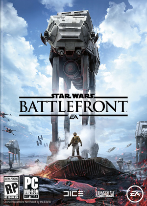 Cover for Star Wars Battlefront.