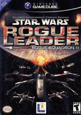 Cover for Star Wars Rogue Squadron II: Rogue Leader.