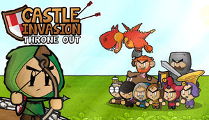 Cover for Castle Invasion: Throne Out.