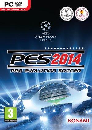 Cover for Pro Evolution Soccer 2014.