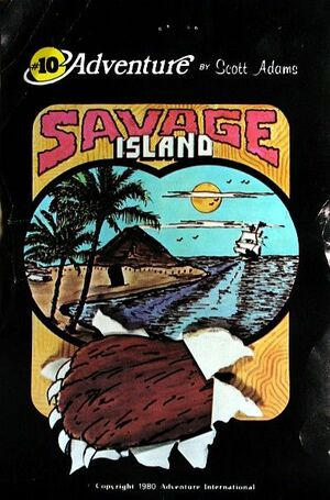 Cover for Savage Island.