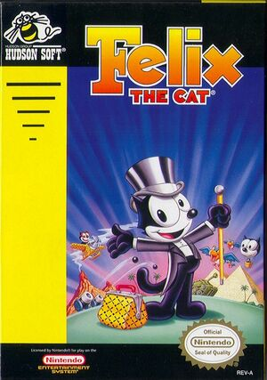 Cover for Felix the Cat.