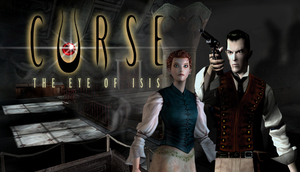 Cover for Curse: The Eye of Isis.