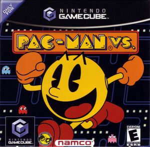 Cover for Pac-Man Vs..
