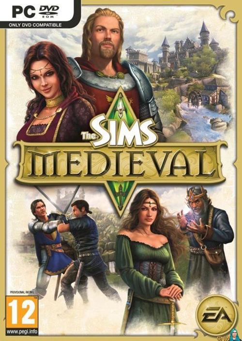 Cover for The Sims Medieval.