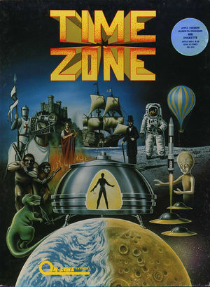 Cover for Time Zone.