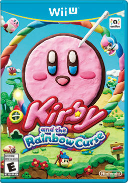 Cover for Kirby and the Rainbow Curse.