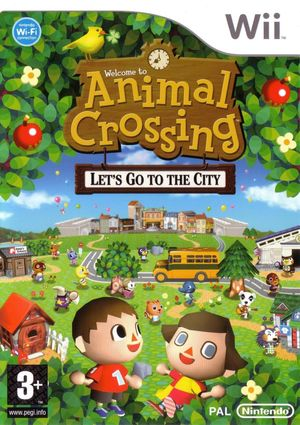 Cover for Animal Crossing: City Folk.