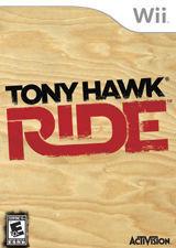 Cover for Tony Hawk: Ride.