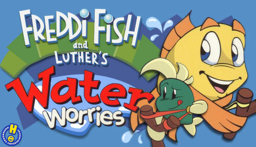 Cover for Freddi Fish and Luther's Water Worries.