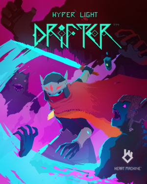 Cover for Hyper Light Drifter.