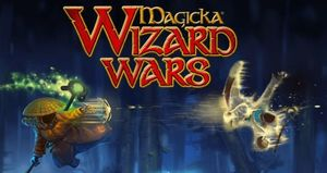 Cover for Magicka: Wizard Wars.