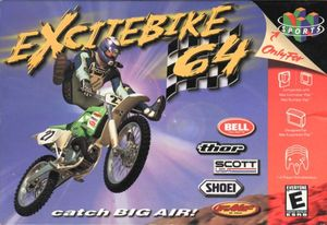 Cover for Excitebike 64.